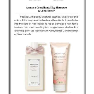 Anmyna shampoo and conditioner set