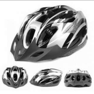 helm sepeda EPS black silver