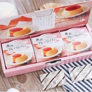 北海道 牛乳布丁配焦糖酱 3個
