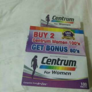 Centrum Women Vitamins