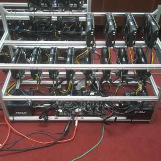 1050ti new edition x 12gpu mining rig promo offer!