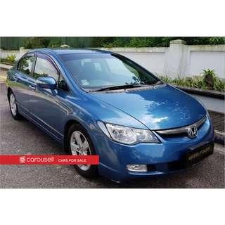 Honda Civic 1.8A VTi-S (COE till 06/2021)