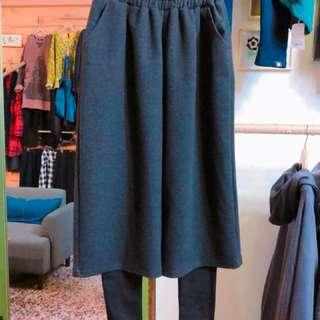 裙褲  假2件