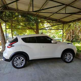 2016 nissan juke  a/t orig white smooth paint below 18tk milage only complete with casa records nothing to fix reg 1st owned 850t nego only upon viewing sampaloc mla area 09232879945
