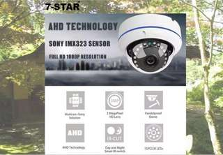 CCTV - AHD Full-HD SONY 1080P Dome IR Camera - Weatherproof Waterproof Vandalproof outdoor cctv camera - Cctv installation - Cctv DVR Recorder - Surveillance Security Camera - KOREA 7-STAR*