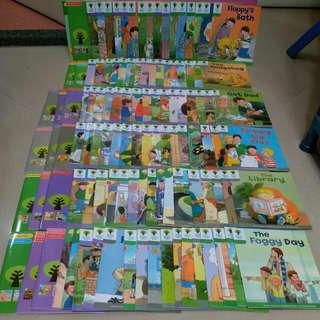 kids books (Oxford reading tree plus guided reading note)