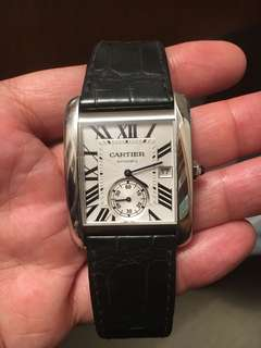Cartier Tank MC with certificate