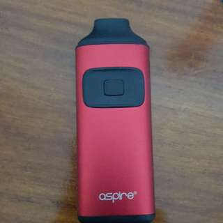 Vape Aspire Breeze Merah + Liquid Chocolates + Liquid Mad Tea Party