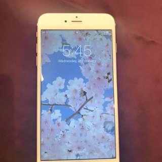 Iphone6s plus 玫瑰金 64G 少少花