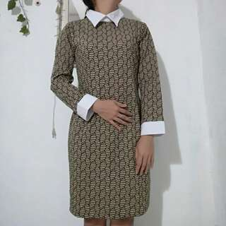 Pattern Dress Terusan