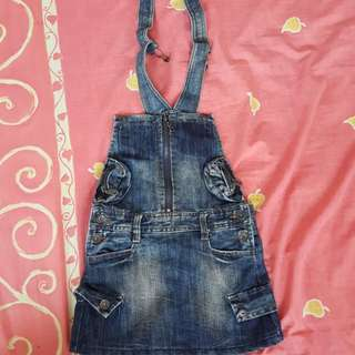 Girls overall dungarees