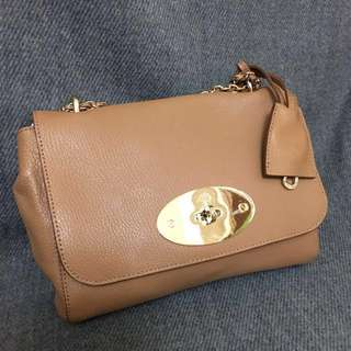 💯Mulberry Lily 手袋 Bag Small Size in Deer Brown
