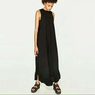 Zara Side Frill Jumpsuit #15off
