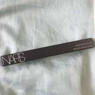 NARS Night series eyeliner (black)