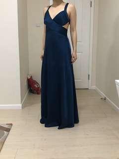 BCBG inspired floor length dress