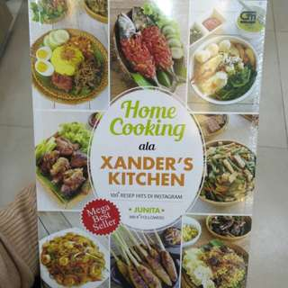 Home Cooking ala Xanders Kitchen Junita Buku Resep Murah Baru Segel
