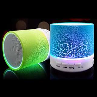 Mini LED wireless Bluetooth Speakers