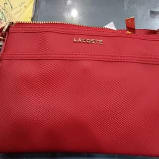 Repriced Lacoste crossbody bag