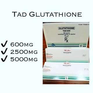 TAD Glutathione 600mg IV