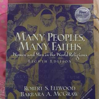 Many People Many Faiths Textbook