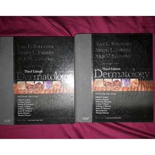 Dermatology by Jean Bolognia 3rd edition