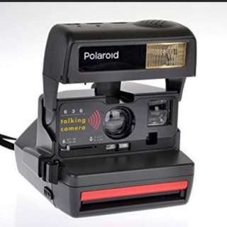 (Sale) Polaroid 636 Talking Camera