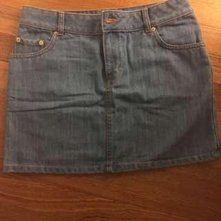 H&M Jeans Skirt