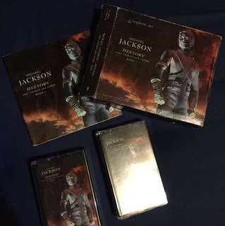 Michael Jackson Cassettes