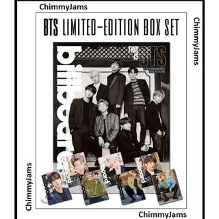 BTS Billboard Magazine - Limited Edition Set READYSTOCK