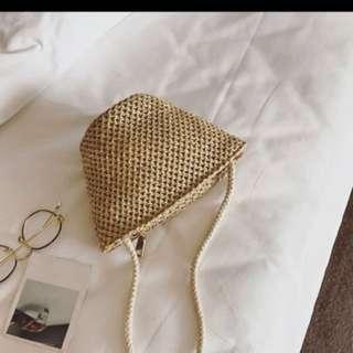 (Free Postage) bohomian rattan bag