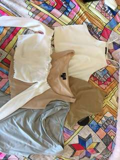 All crop tops for $80