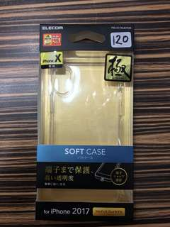 apple iphoneX case 日本直送 新品 透明 elecom 保護 軟case #20