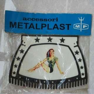 Vespa mud flap by Metalplast