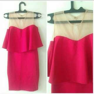 Dress Merah New