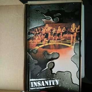 Insanity Exercise Discs