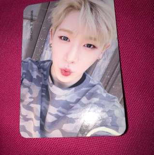 WTT Wonho/Hoseok photocard