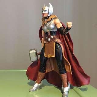 """Marvel Legends 6"""" Thor Ragnarok Jane Foster complete figure"""