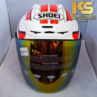 SHOEI J-FORCE 4 MODERNO (WHITE/RED)