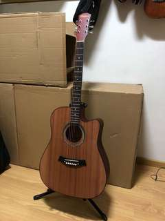 Brand new acoustic guitar