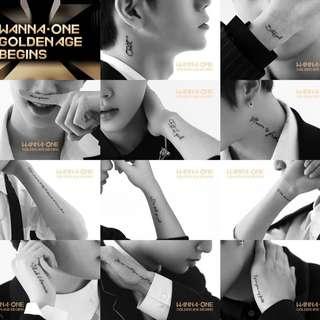[NON-PROFIT GO] WANNA ONE- GOLDEN AGE ALBUM