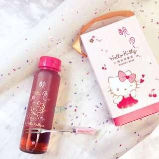 季節限定! 醉月x SANRIO Hello Kitty 櫻桃果實酒+附叉 Cherry Wine With Fork Gift Box set