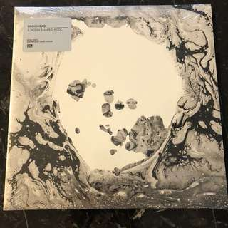 Radiohead - A moon shaped pool. Vinyl Lp. New