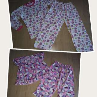 Sleepwear set for girls