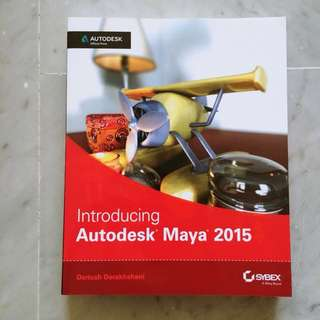 Introducing Autodesk Maya 2015: Autodesk Official Press