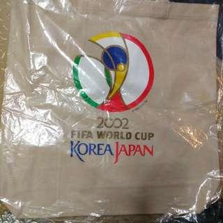 珍藏2002年日韓世界杯環保袋