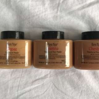 Ben Nye Luxury Powders (set of 3)