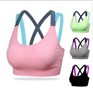 sports bra padded 32-36ab