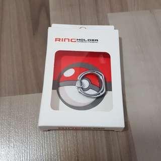 Bn Pokemon ball handphone ring