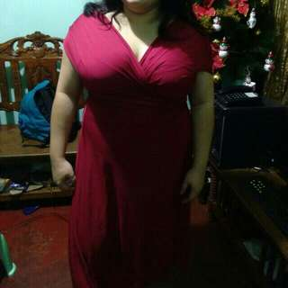 Infinity Dress Dark Red