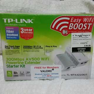 Tp-link powerline WiFi extension kit